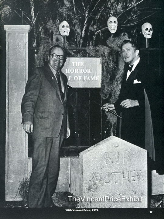 Horror Hall of Fame 1974