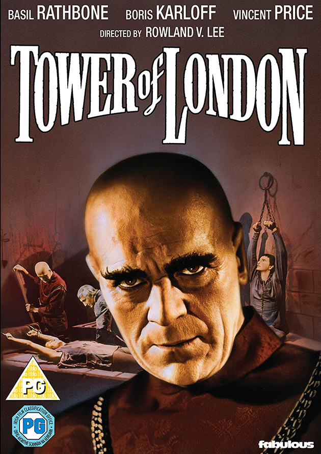 Tower of London 1939 UK DVD