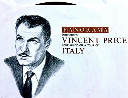 Vincent Price | Colorslide | Italy