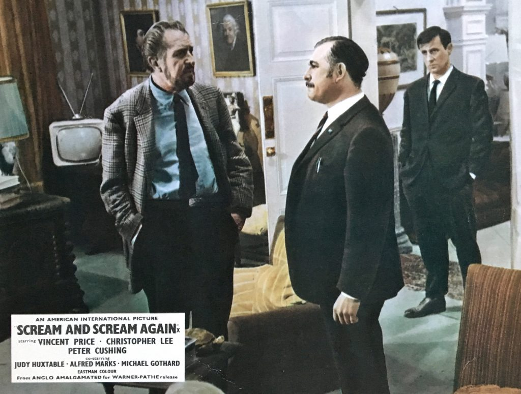 Scream and Scream Again - Lobby Card