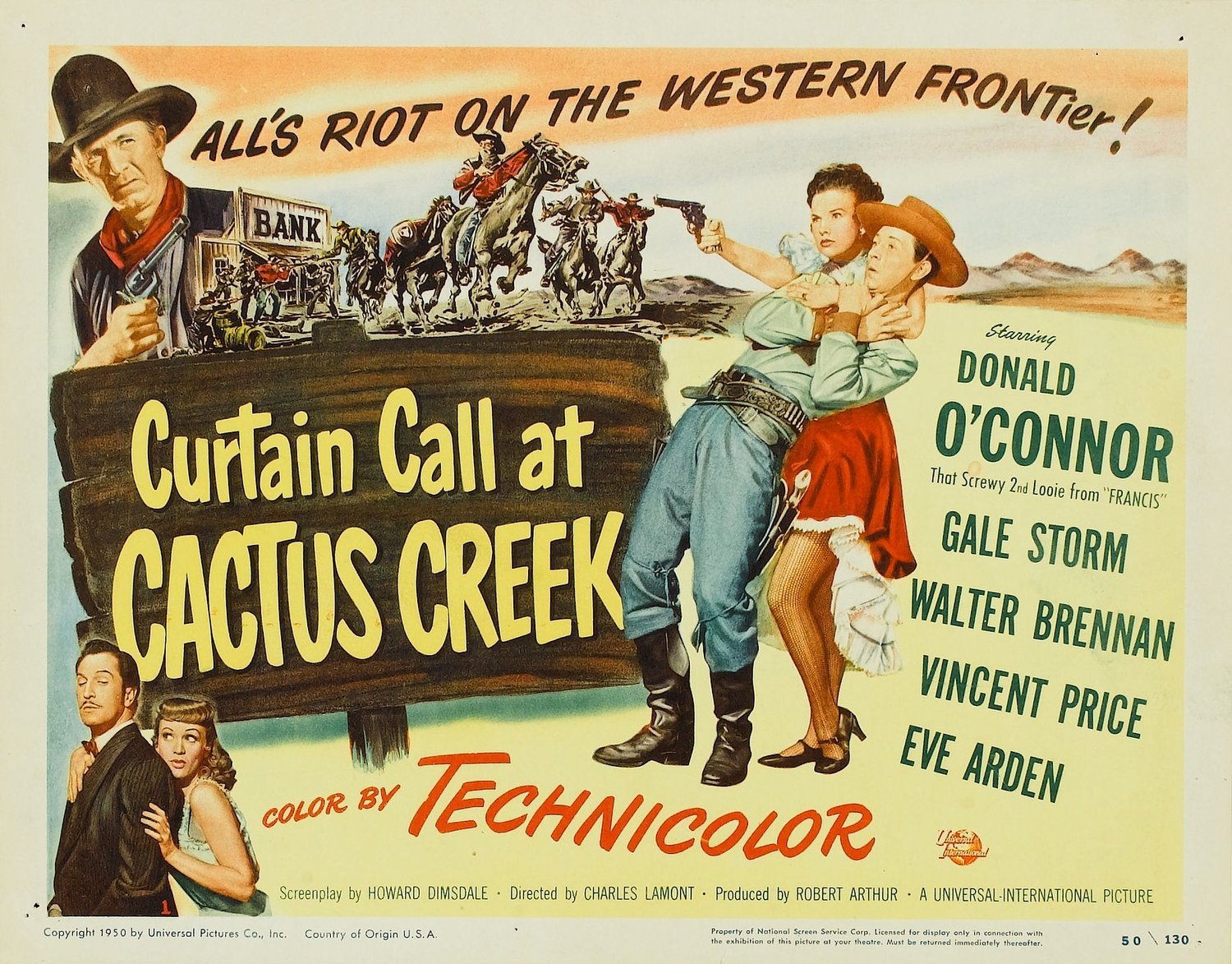 Curtain Call at Cactus Creek (1950)
