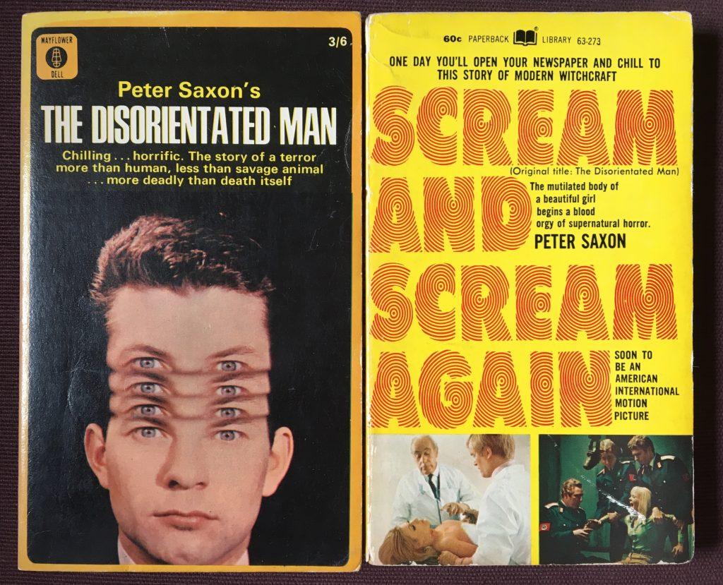 Scream and Scream Again | Novels